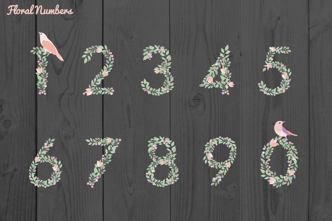 Floral Alphabet example image 3