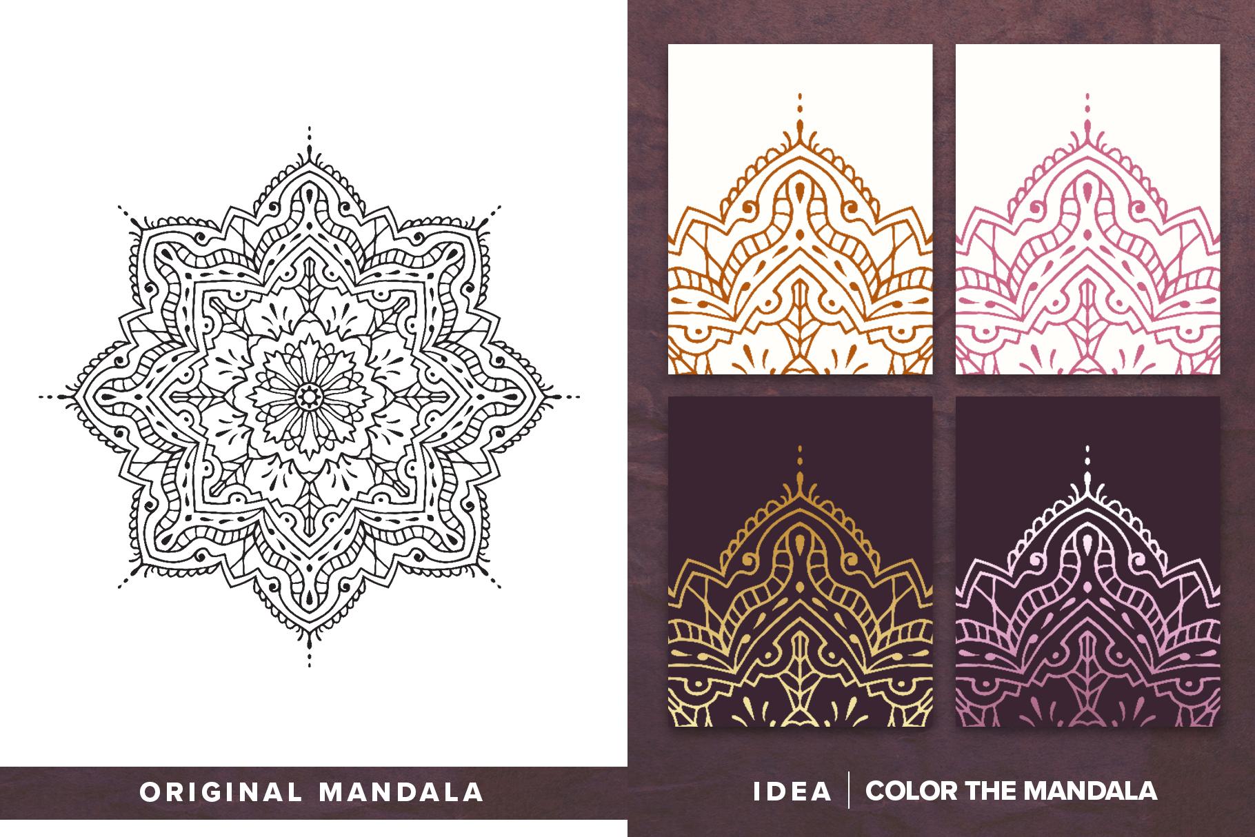 300 Vector Mandala Ornaments example image 3