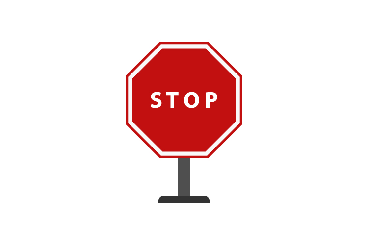 Stop icon example image 1