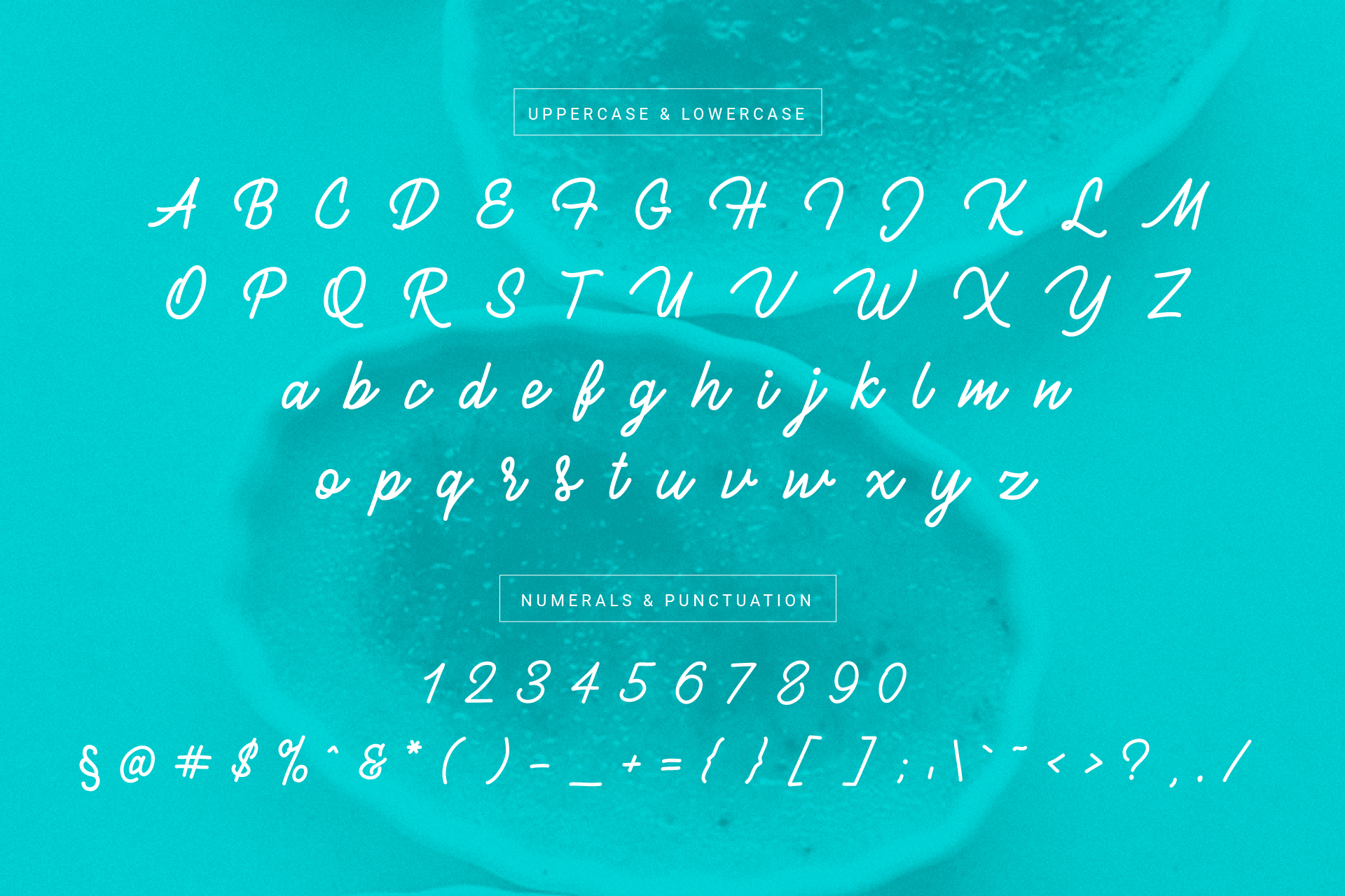Brulle monoline font example image 4