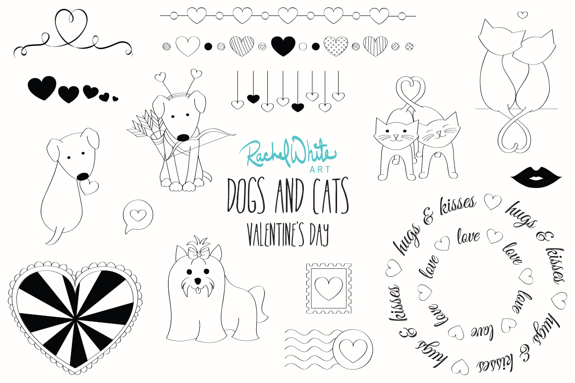 Dogs & Cats, Valentine's Day example image 2