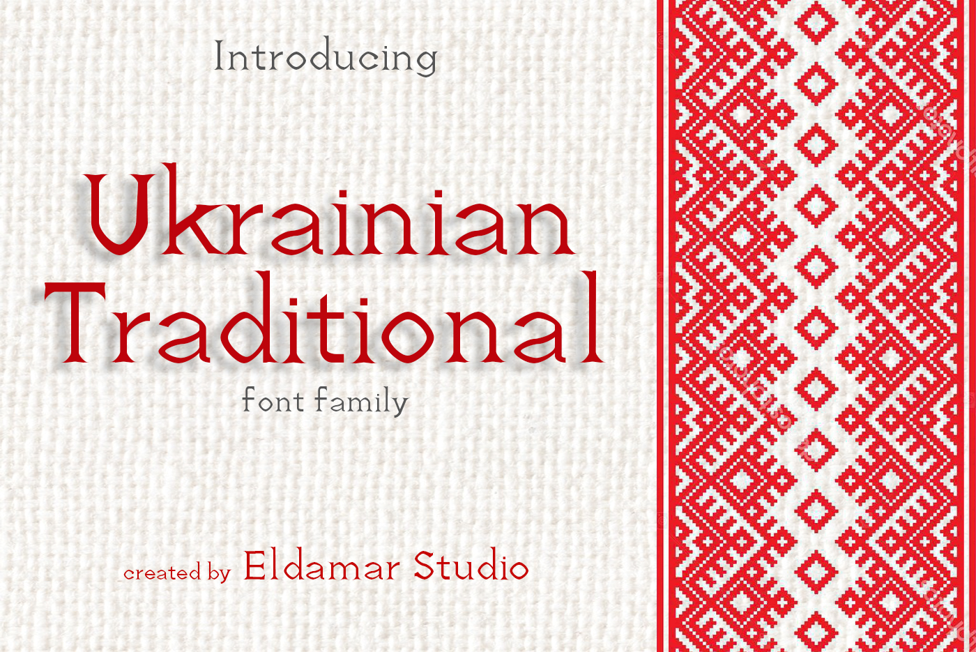Ukrainian Traditional Font example image 1