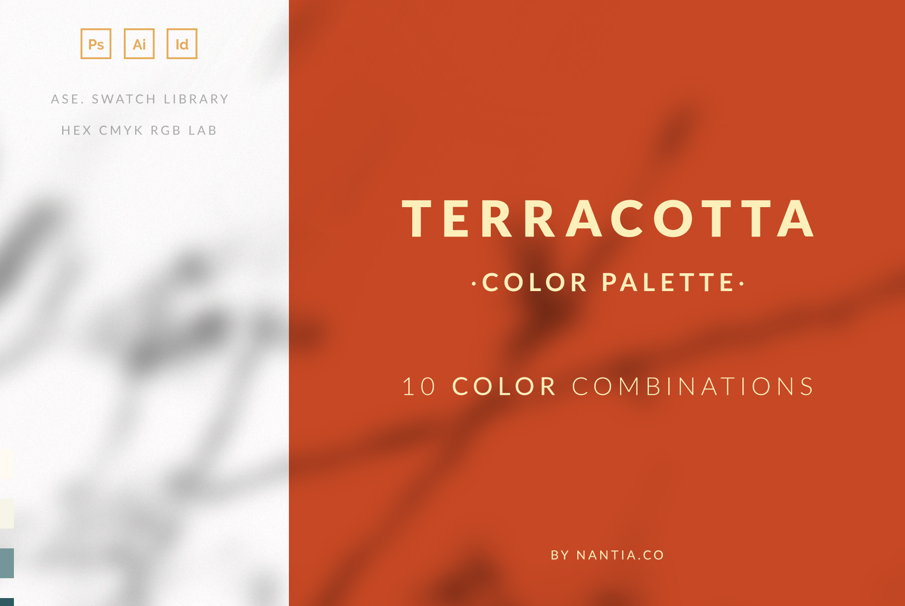 Terracotta Color Palette collection example image 1