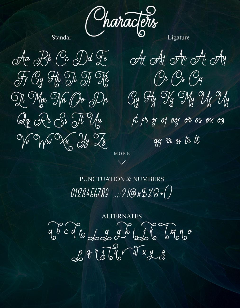 Lionettes Typeface example image 5