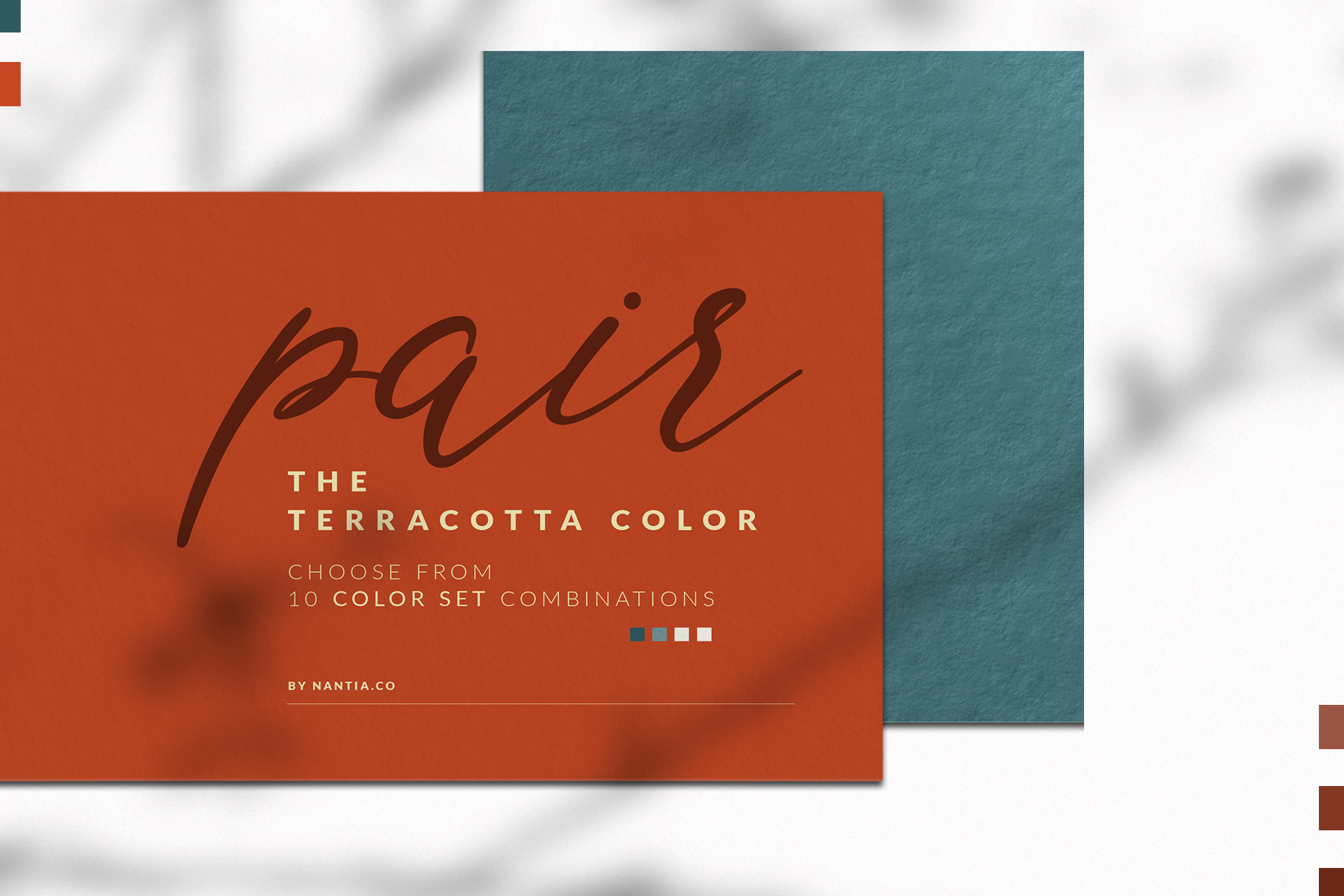 Terracotta Color Palette collection example image 2