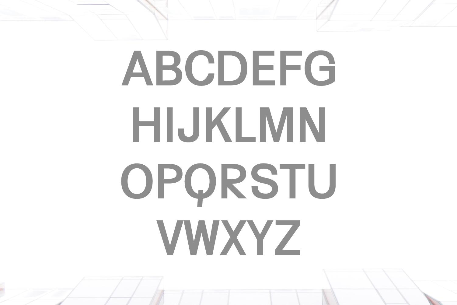 Yahir Sans Serif Font Family example image 2
