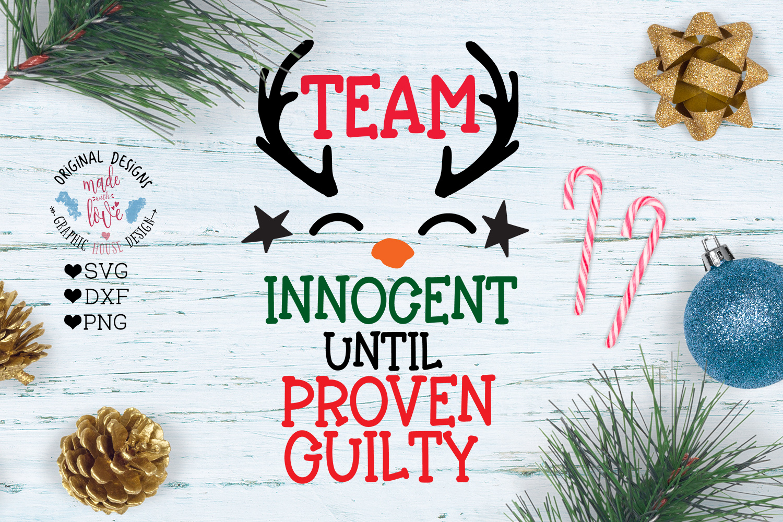Team Innocent Christmas Cut File example image 1