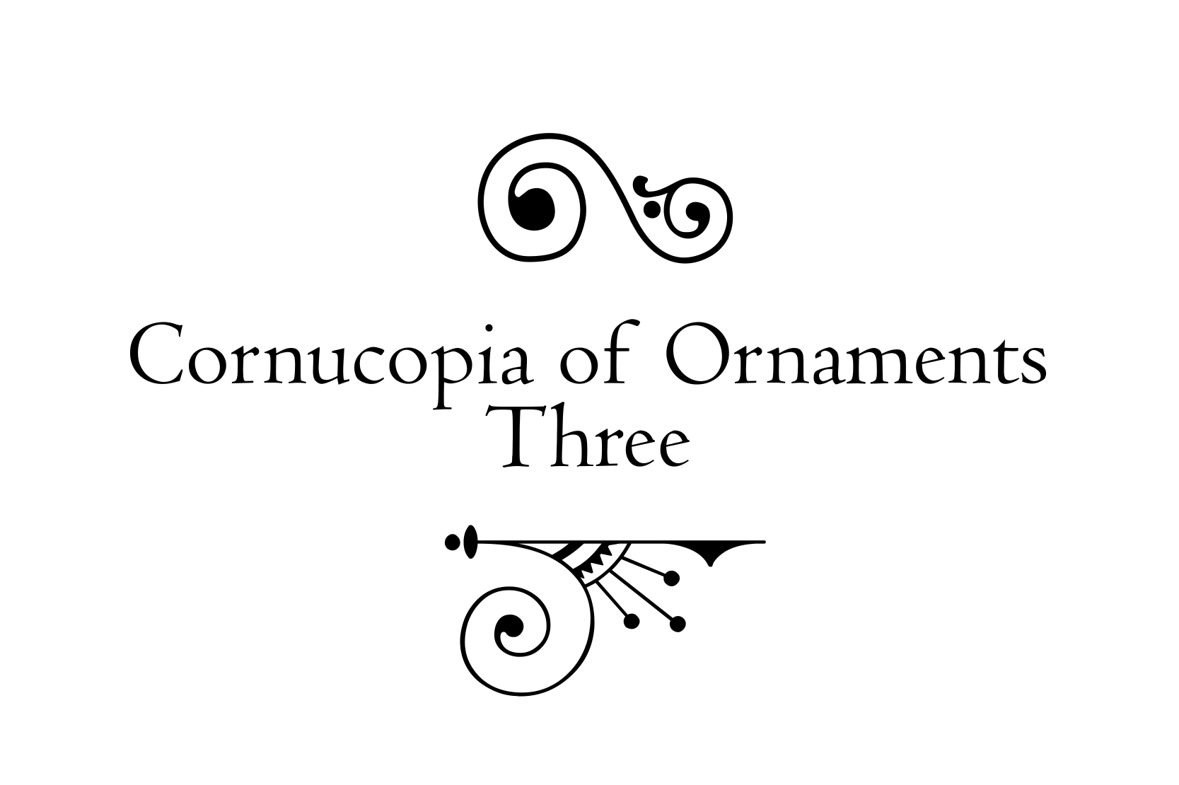Cornucopia of Ornaments Three example image 4