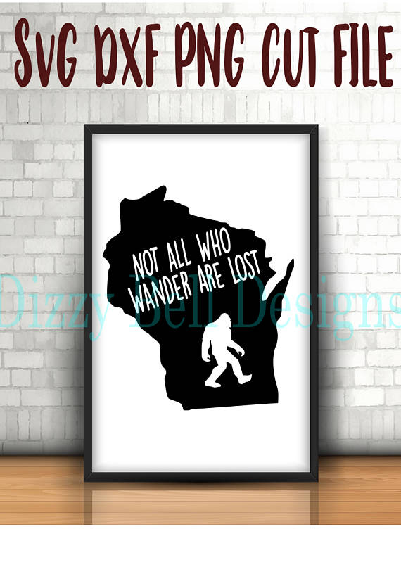 WISCONSIN State Sasquatch File, Digital Instant Download example image 1