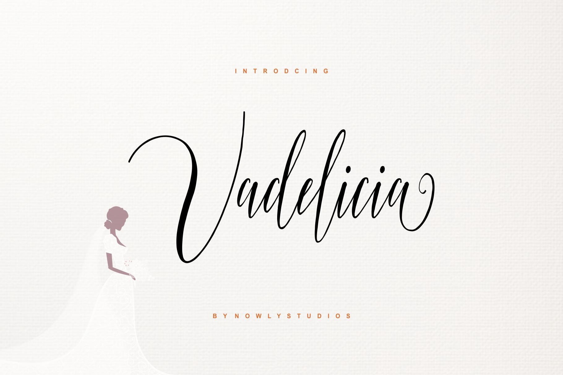 Vadelicia Script example image 1