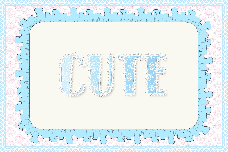 12 Shabby Chic Adobe Illustrator Graphic Styles example image 11
