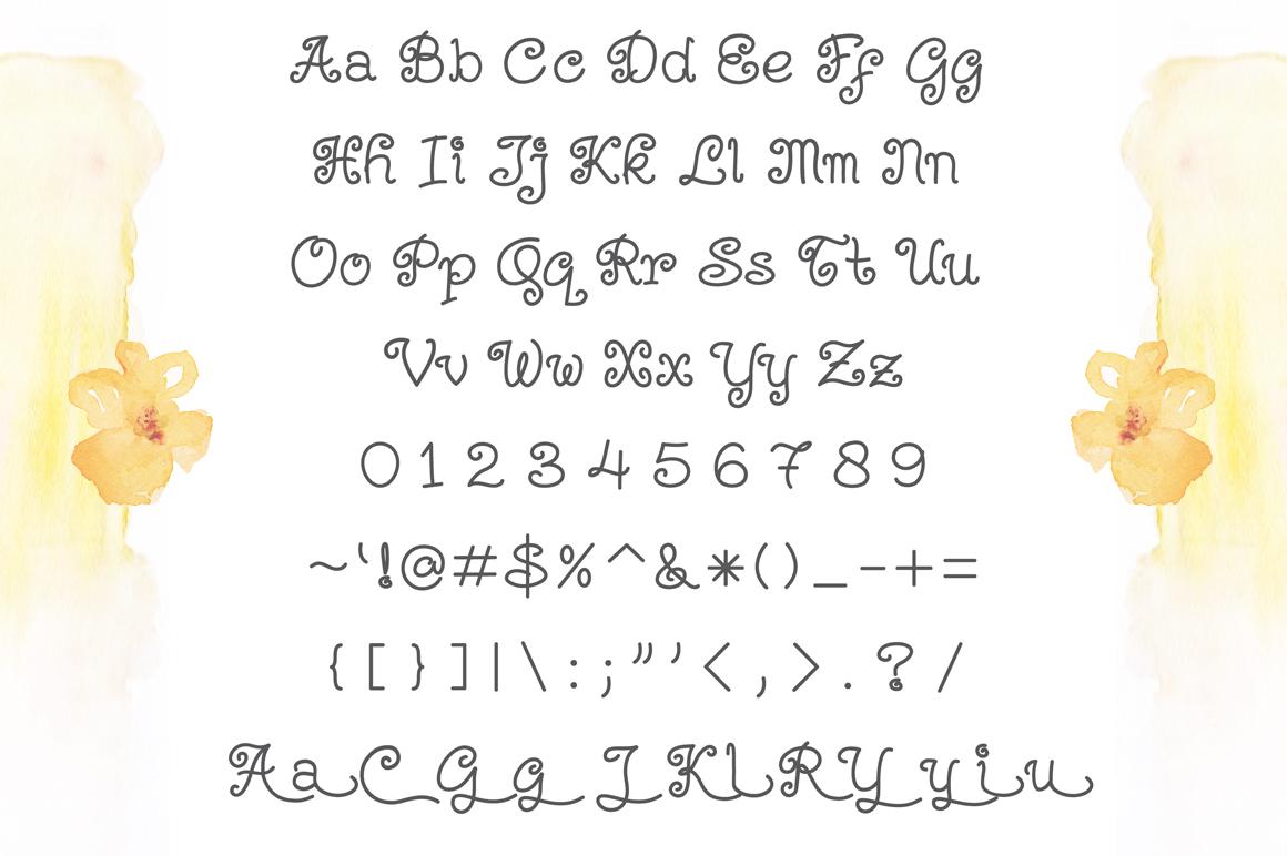 Kerithing Font example image 2