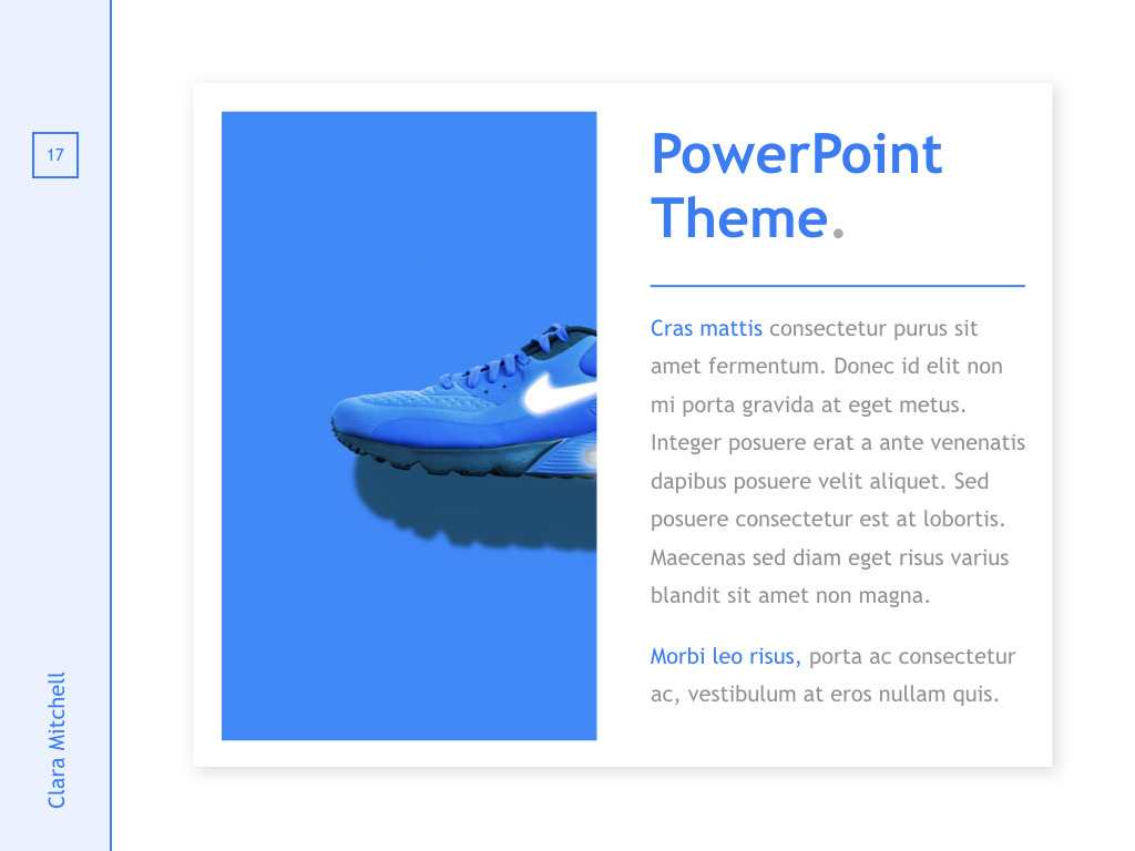 Fashion Designer PowerPoint Template example image 17