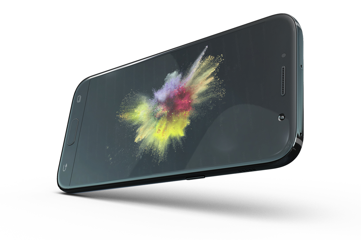 Samsung Galaxy A7 Mockup example image 9