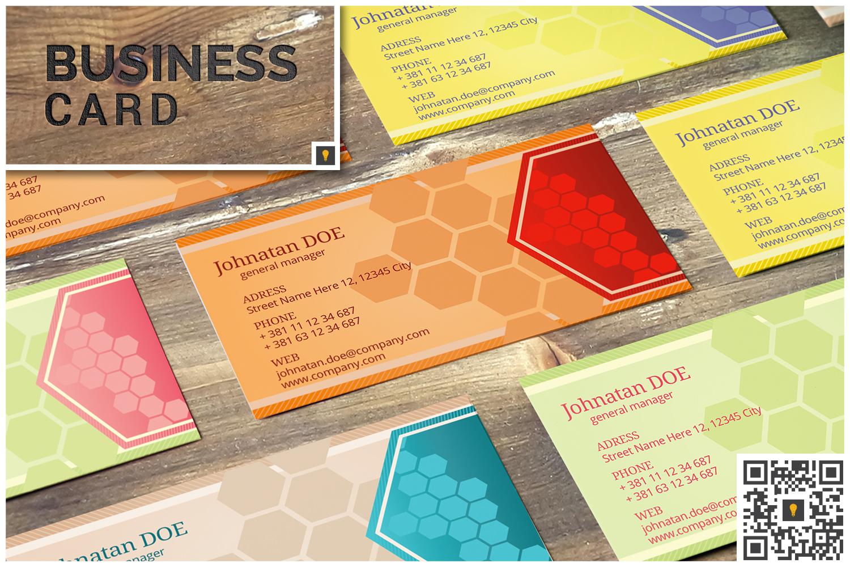 Corporate Hive Print Bundle example image 2