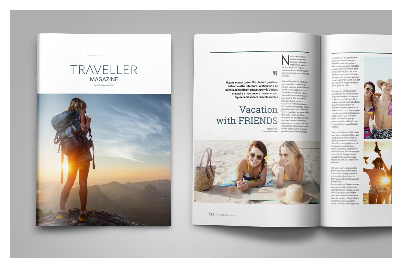 Multipurpose Magazine Template example image 13