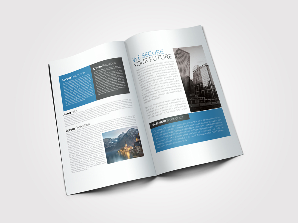 Business Dealing Bifold Brochure example image 2