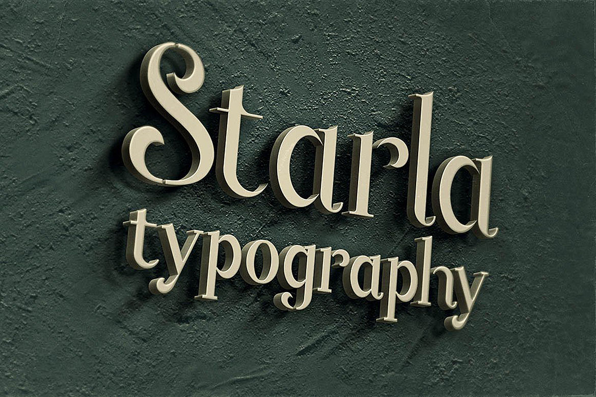 Starla - Display Font example image 5