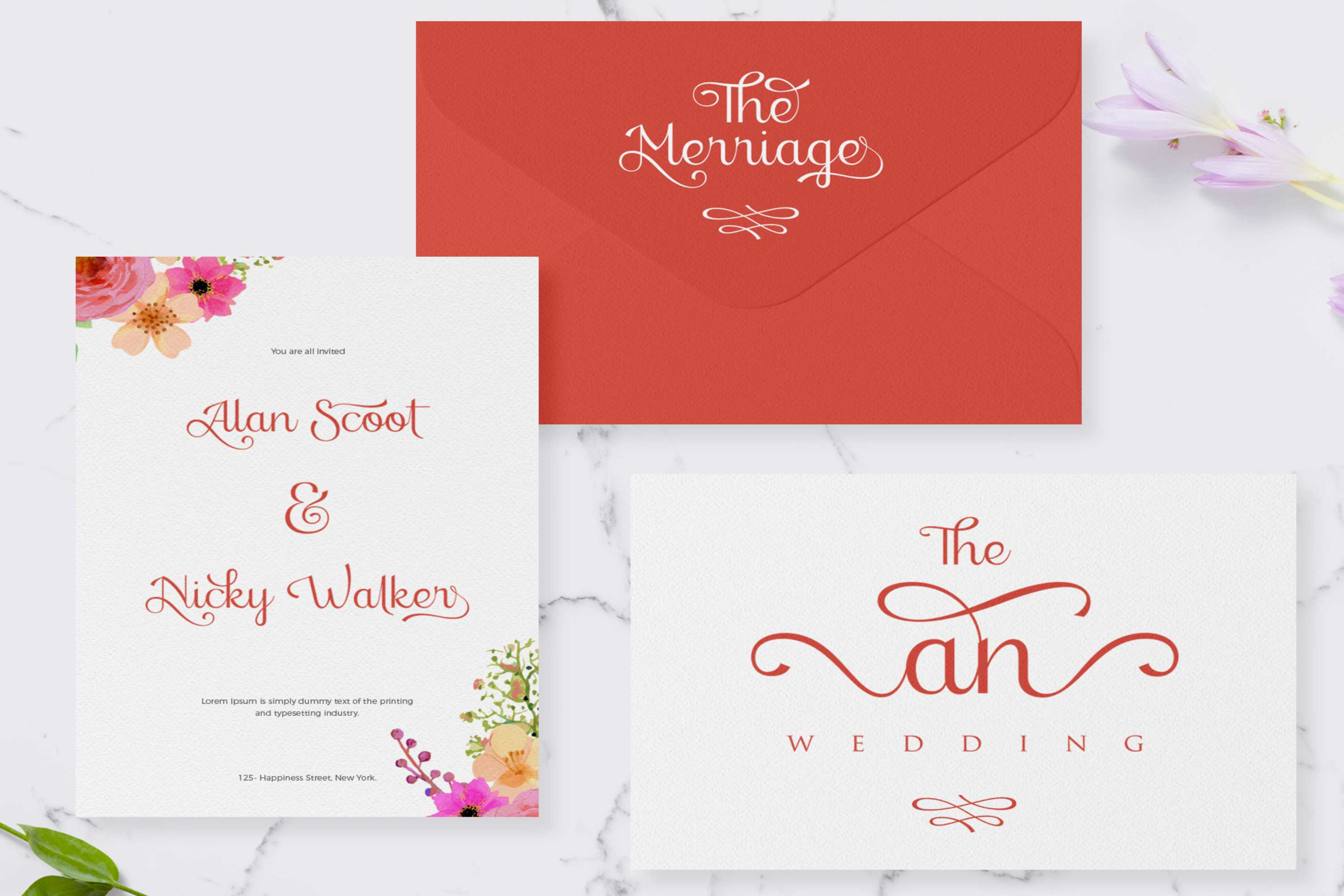 stellar - sophisticated script font example image 6