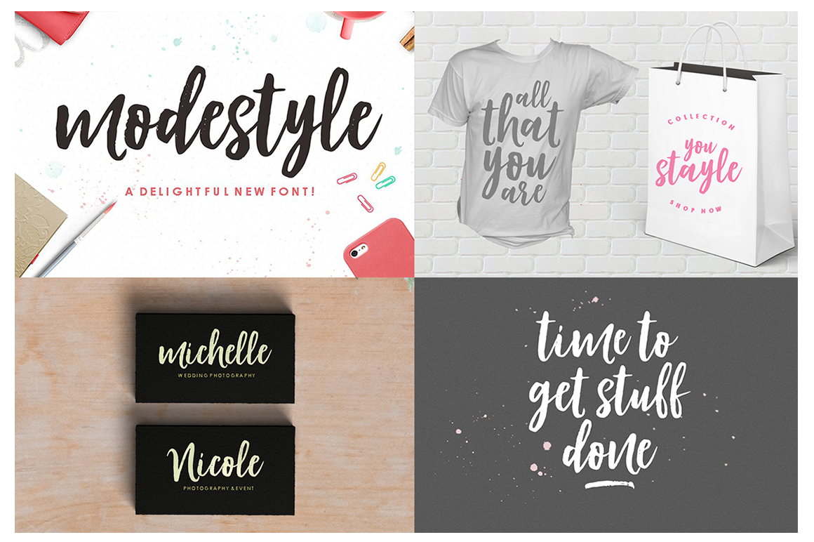 The Handlettered Font Collection example image 6