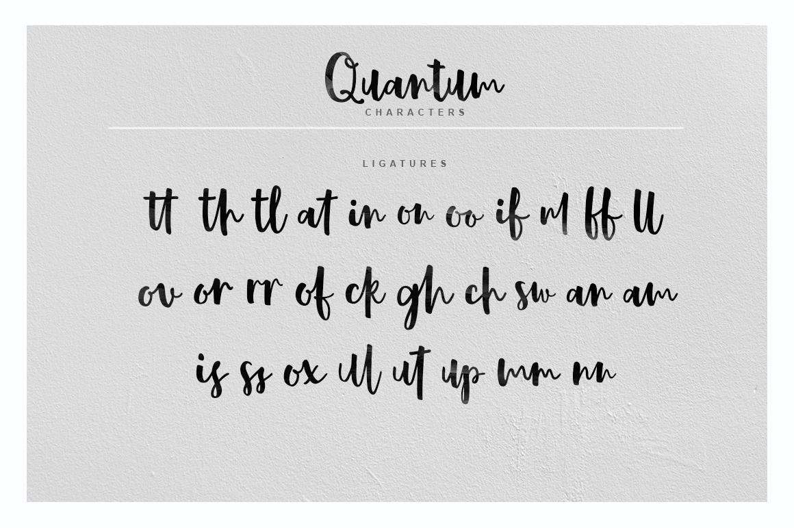 Quantum Font example image 6