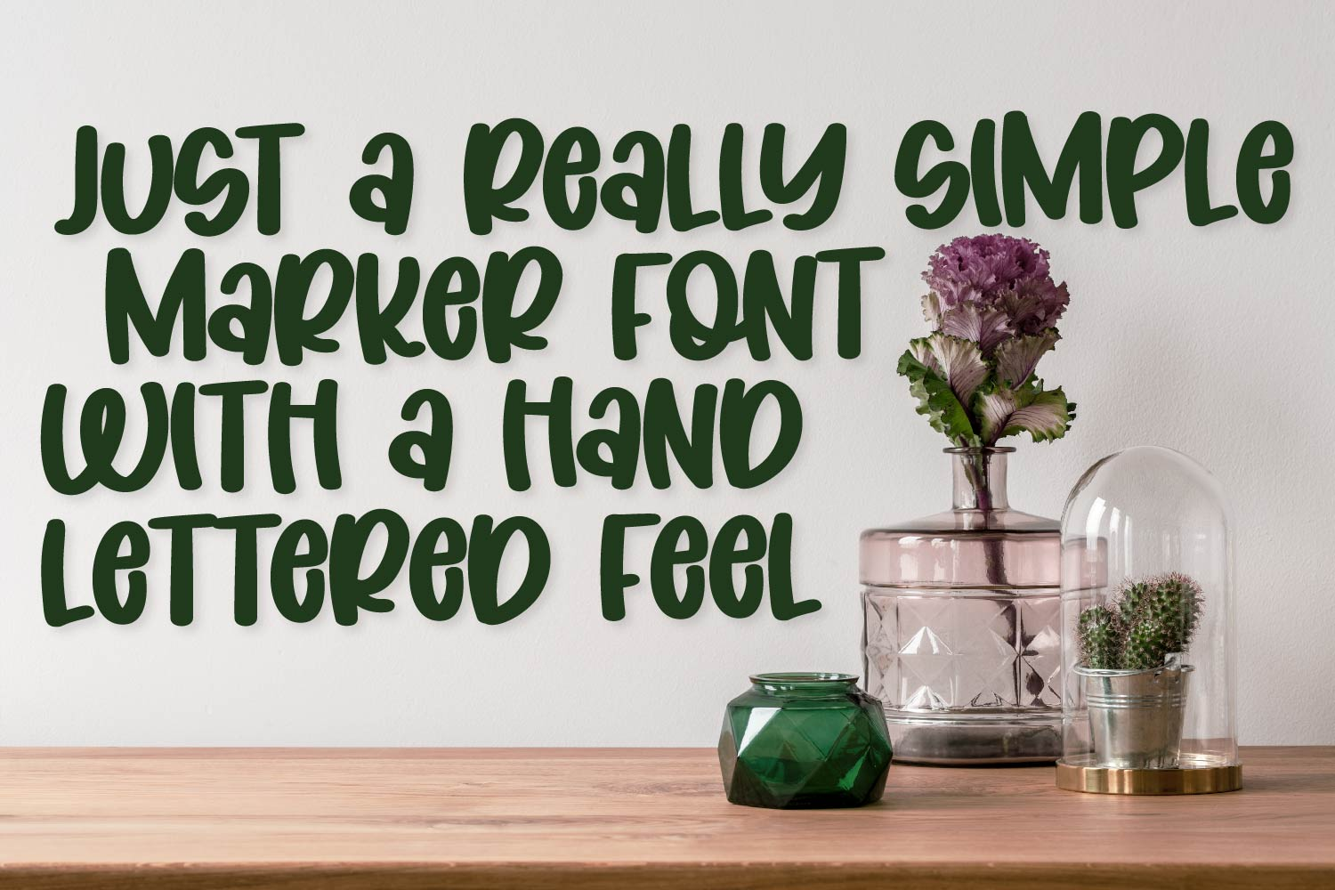 Coconut Wonder - A Simply Adorable Marker Font example image 2