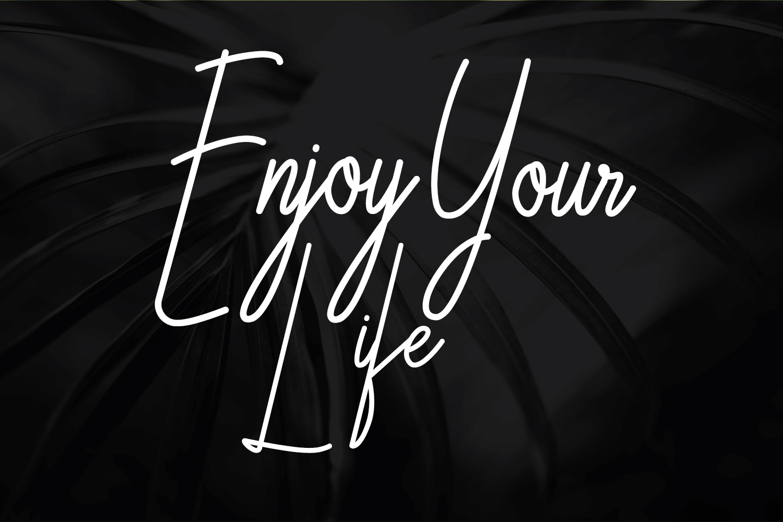 Galliyani Handwritten Font Style example image 7