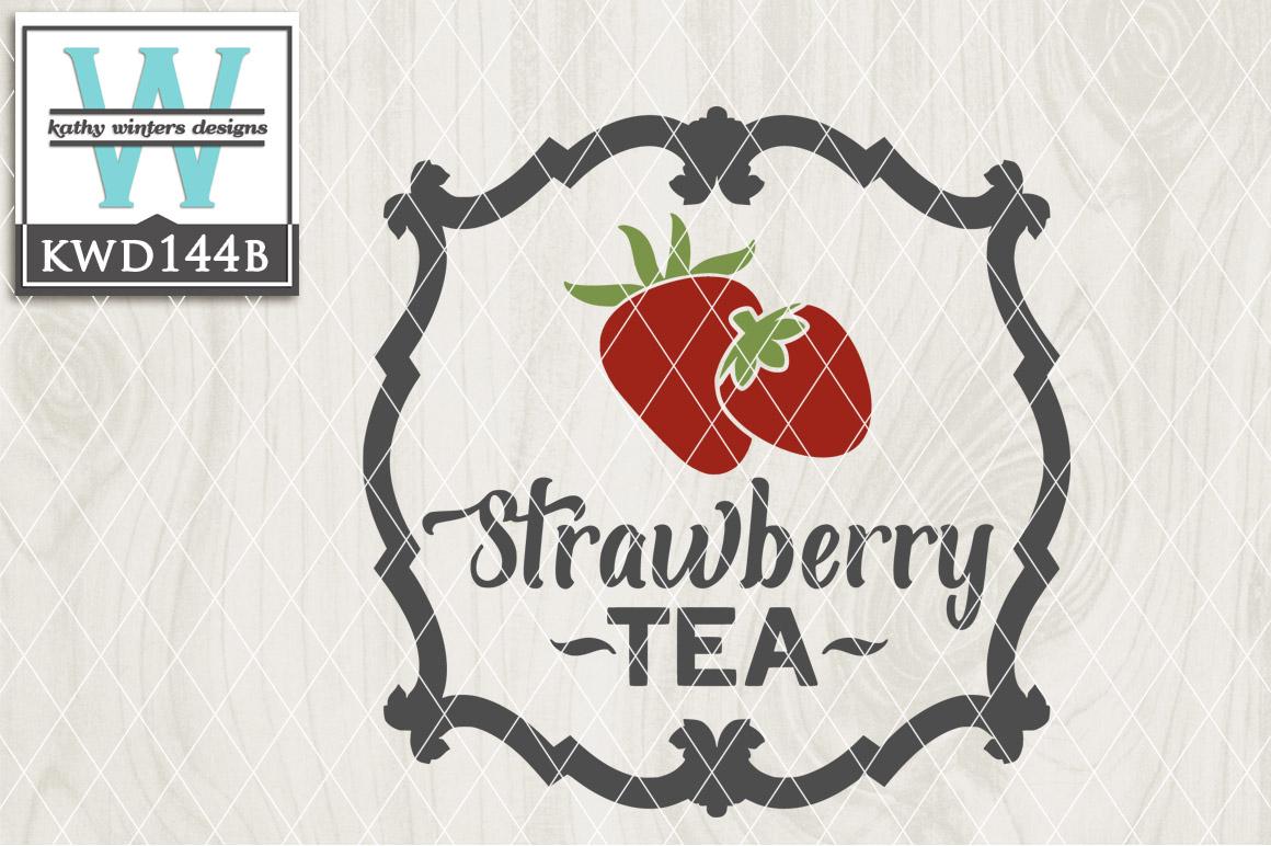 Tea Cutting File KWD144A example image 2