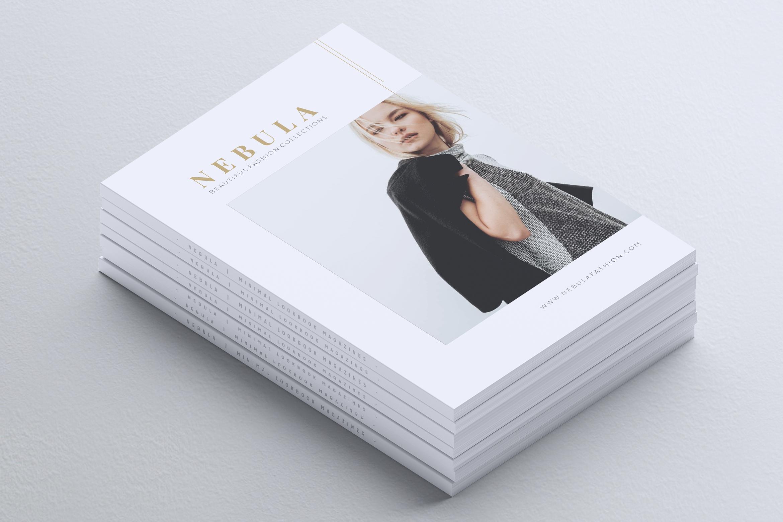 NEBULA Minimal Lookbook Magazine Styles example image 2