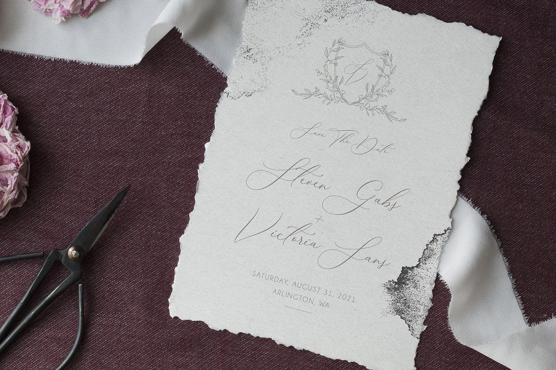 Modern Sketch - Wedding Set example image 4