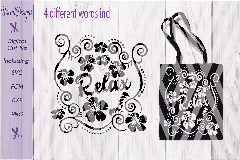 Summer cut file, flowers svg, Bag svg, pillow svg, girls , cut file designs example image 3