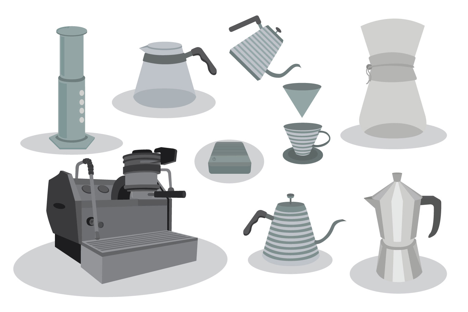 coffee maker vector bundles example image 1
