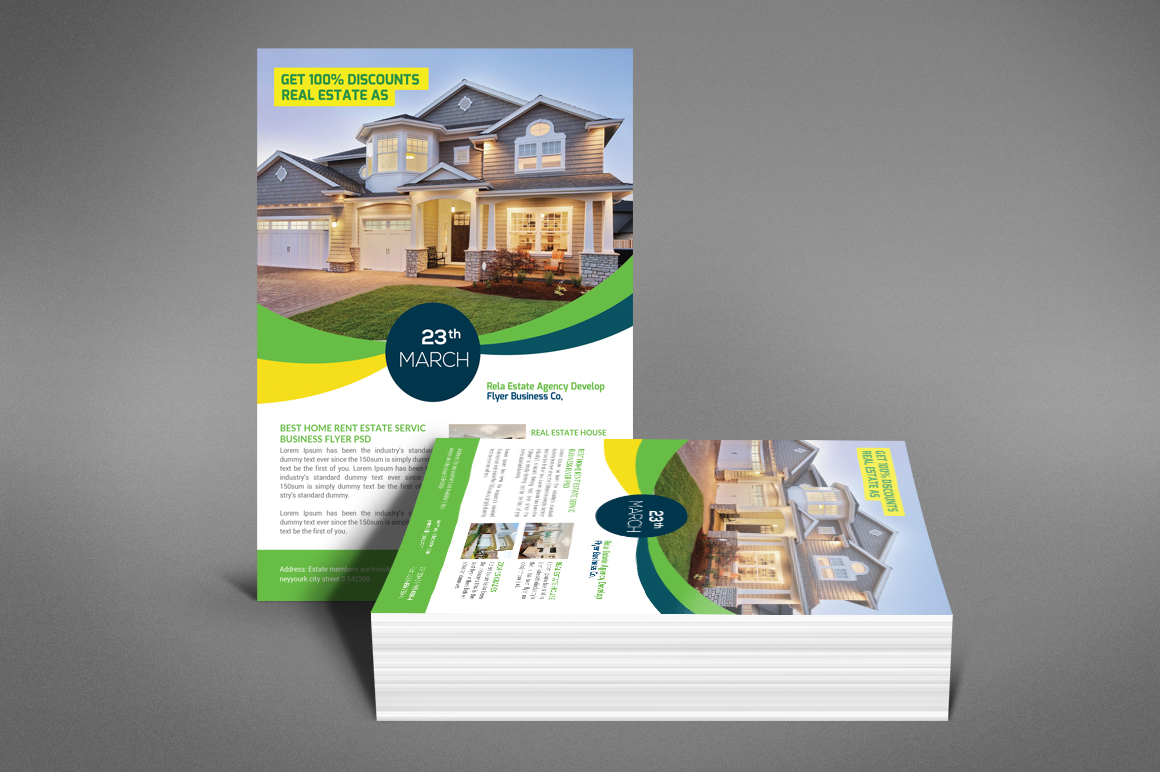 Real Estate Flyer Psd example image 3