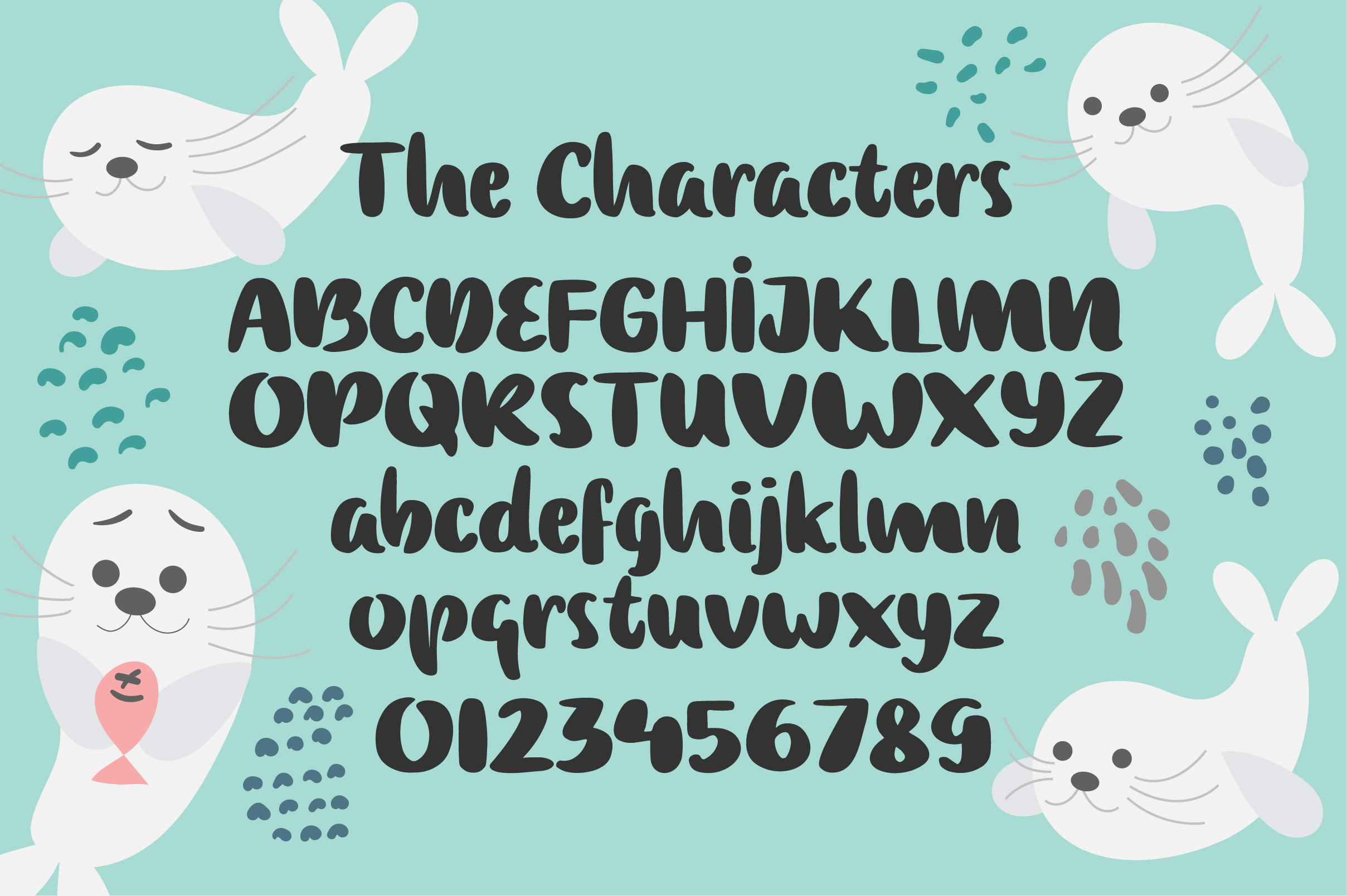 Baby Seal Font example image 2