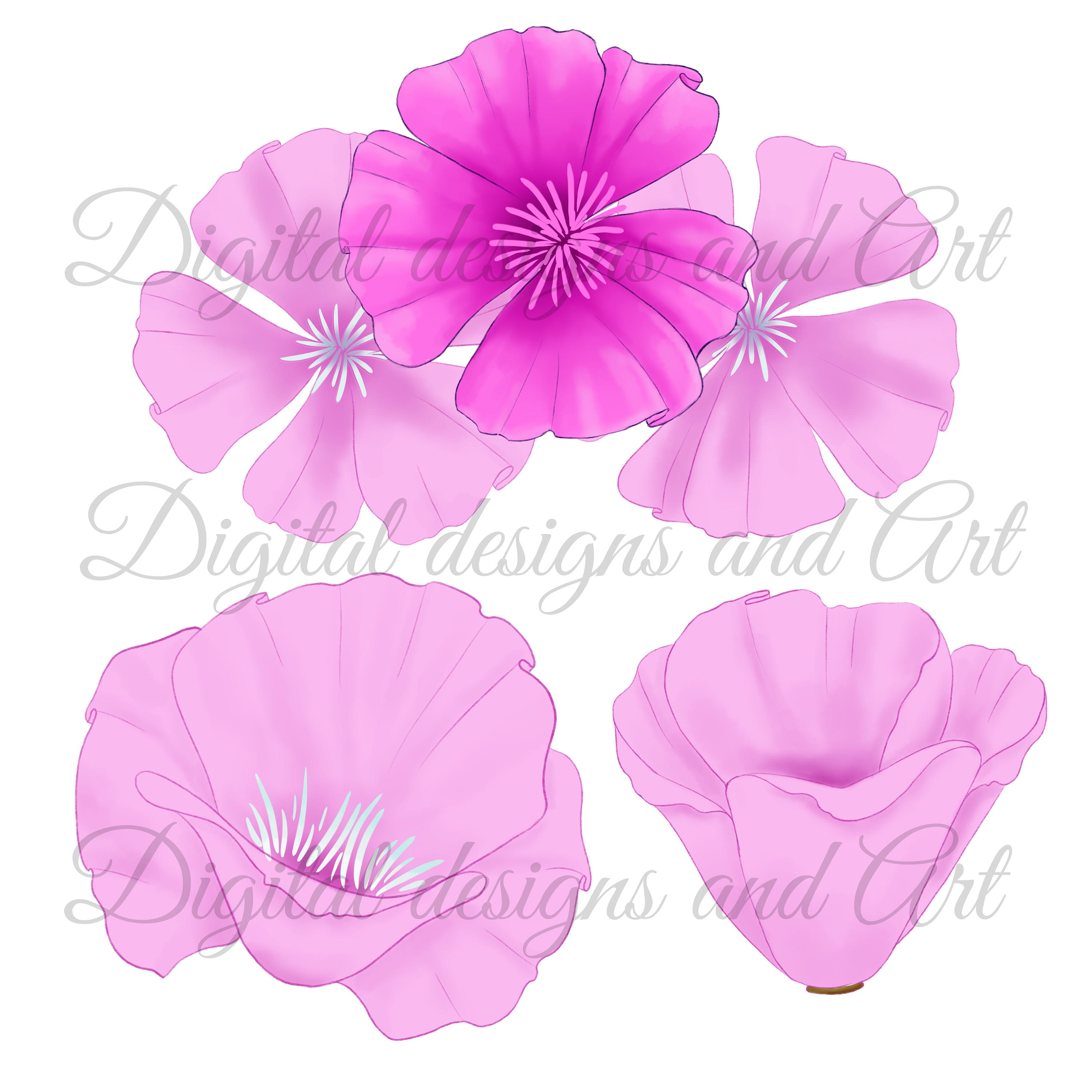 Poppy clipart example image 2