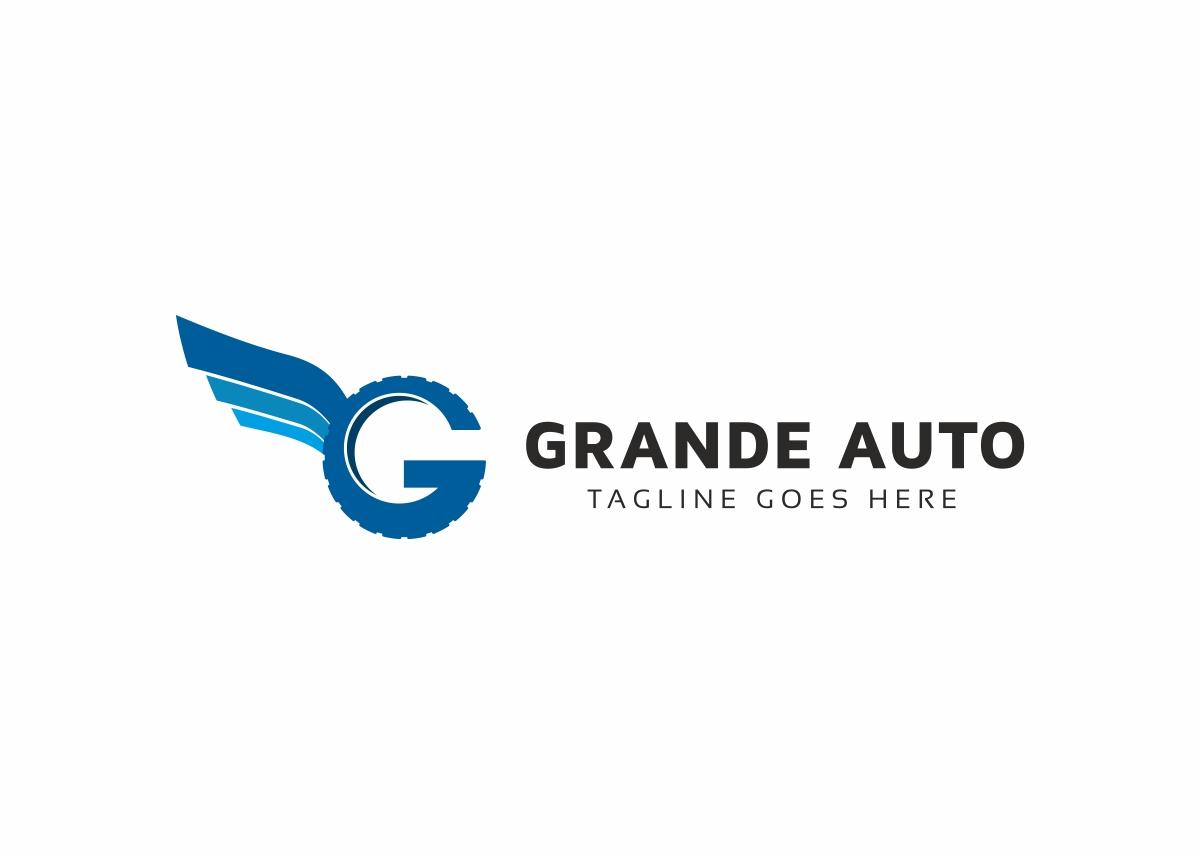 Grande Auto G Letter Logo example image 3