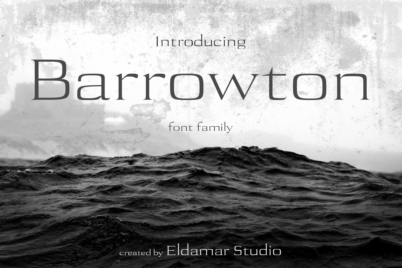 Barrowton Font example image 1