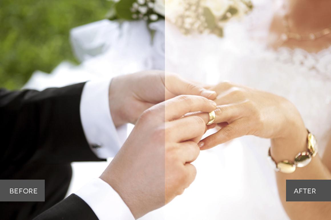 Weddingful Photoshop Actions example image 4