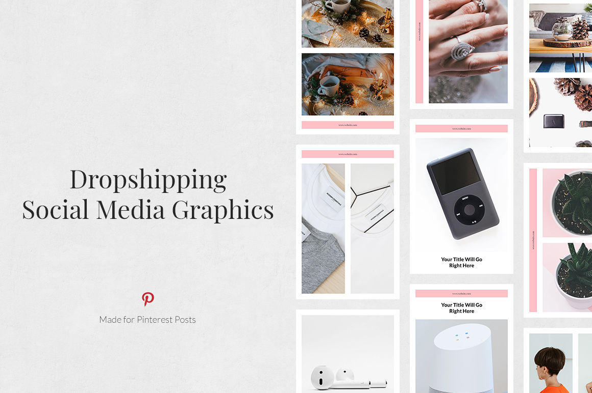 Dropshipping Pinterest Posts example image 1