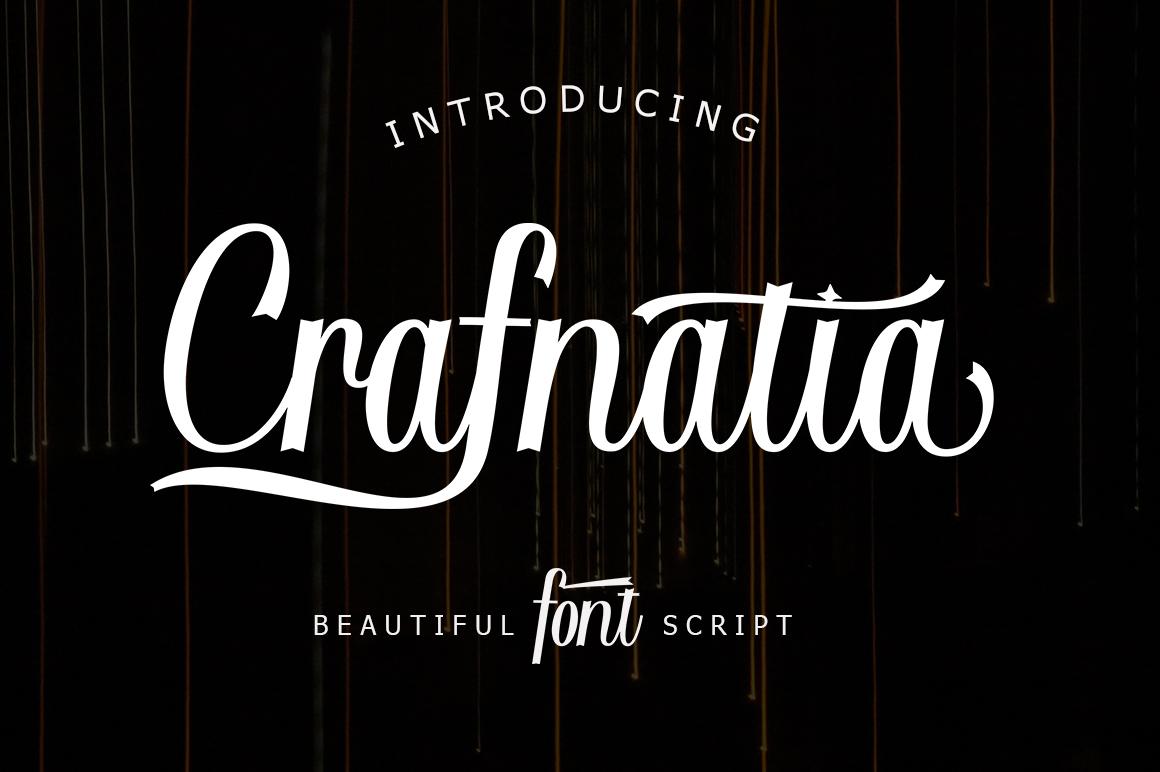 Crafnatia Script example image 1