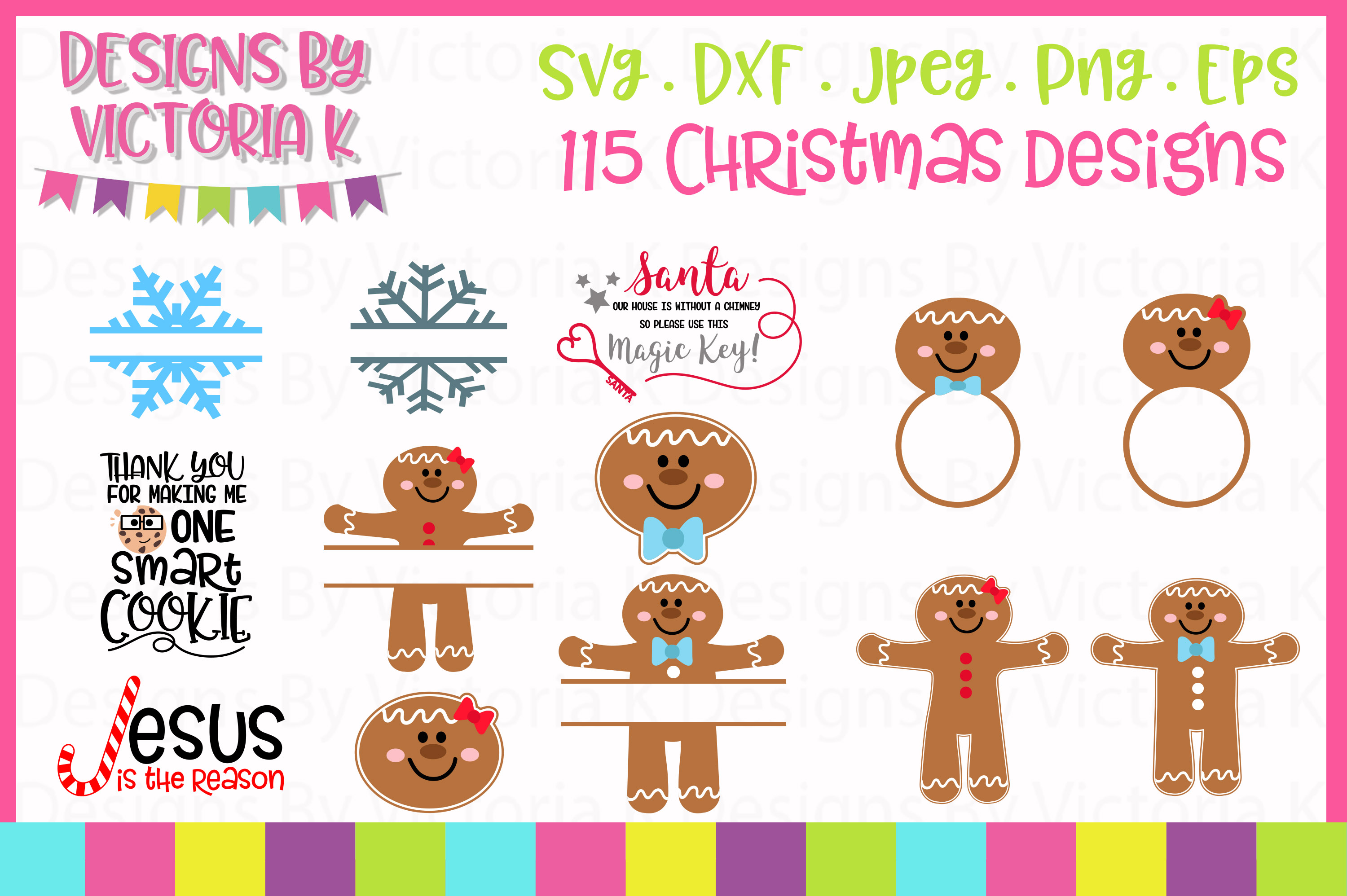 Christmas Bundle SVG Cut Files example image 4