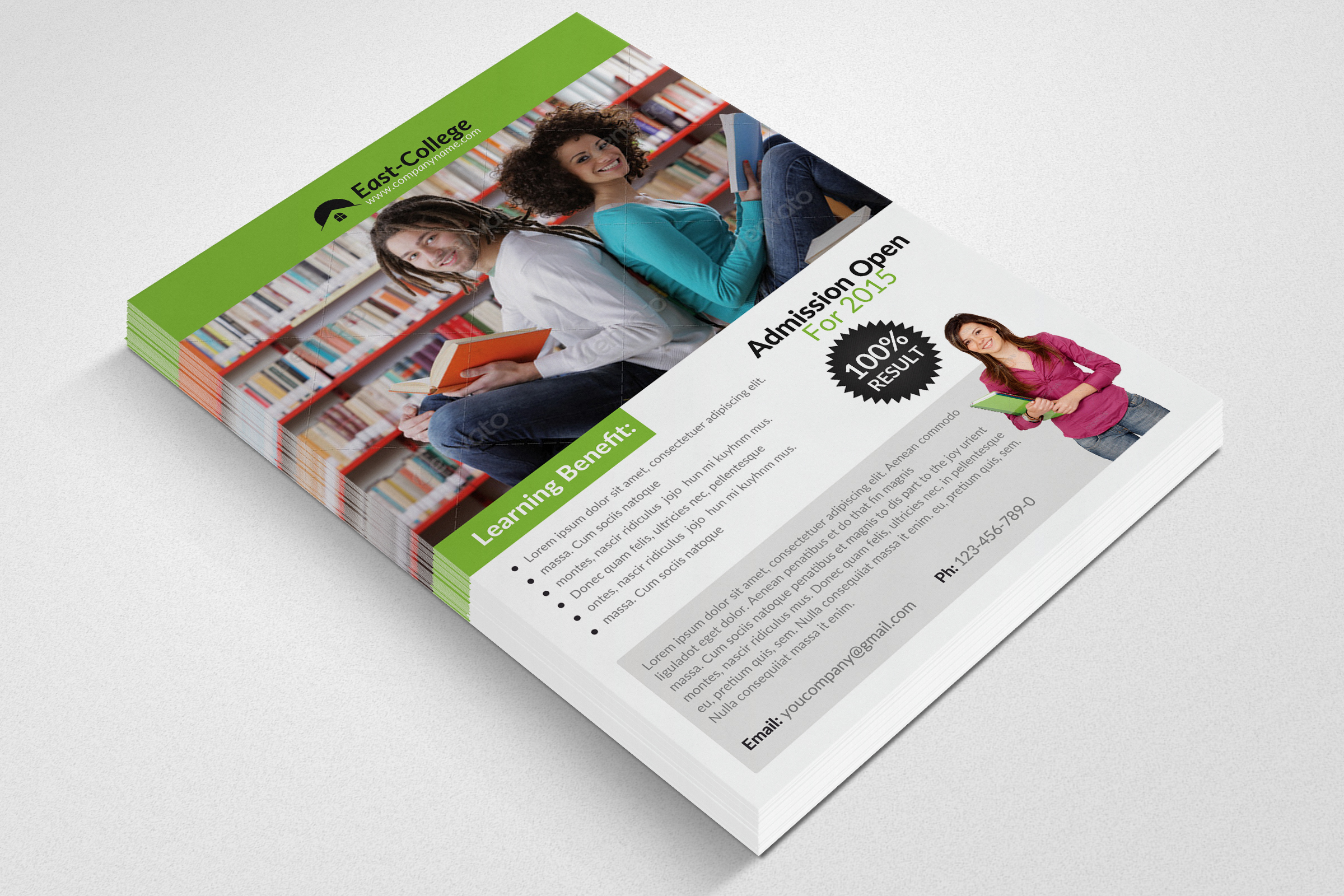 Education Flyer Template example image 2