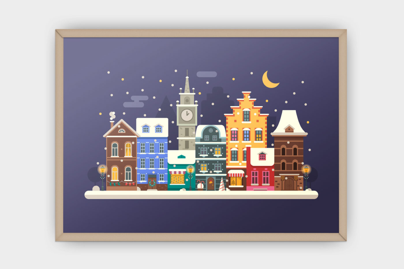 Winter Backgrounds and Landscapes example image 4