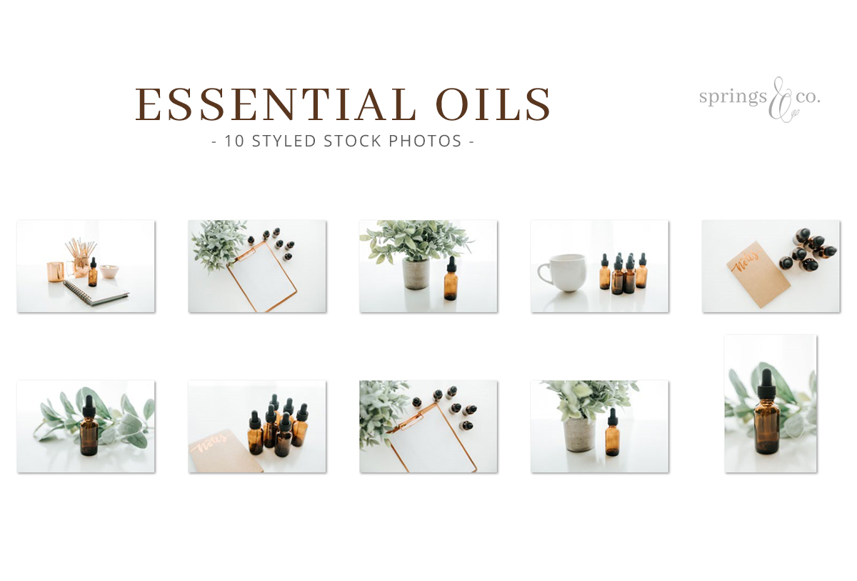 Essential Oils Stock Photo Bundle example image 2