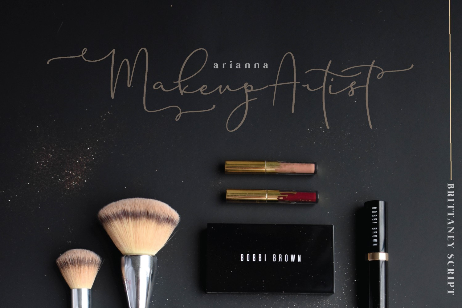 Brittaney - Modern Calligraphy Font example image 10