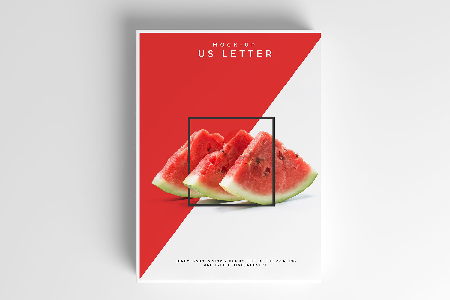 Us Letter Flyer Mockup example image 3