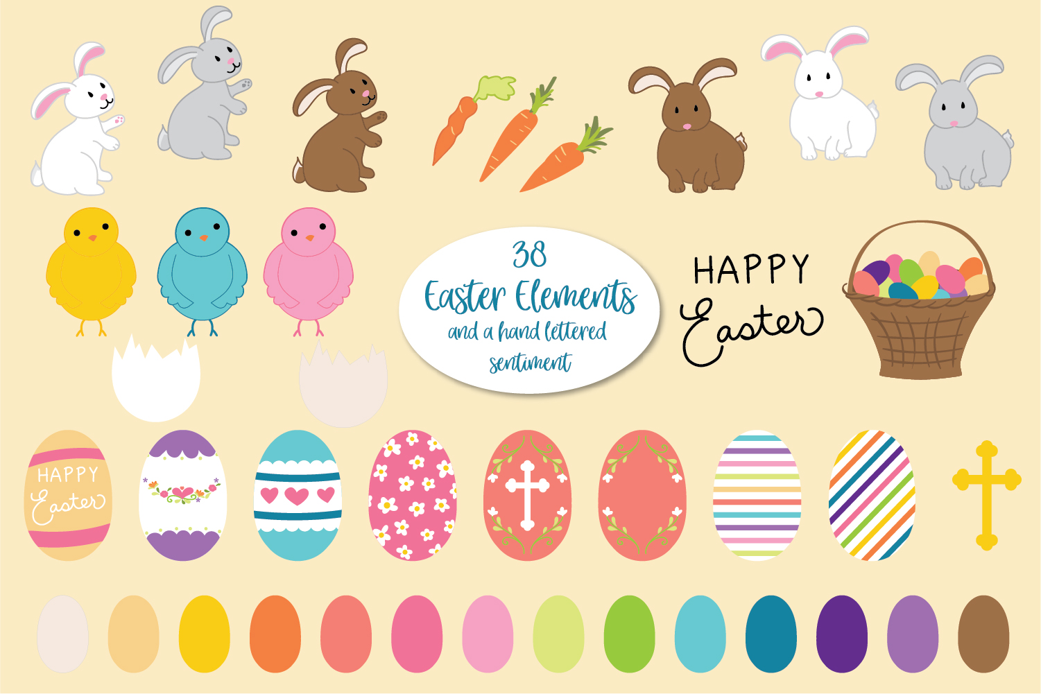 It's Springtime - Easter & Spring Graphics and Papers example image 2