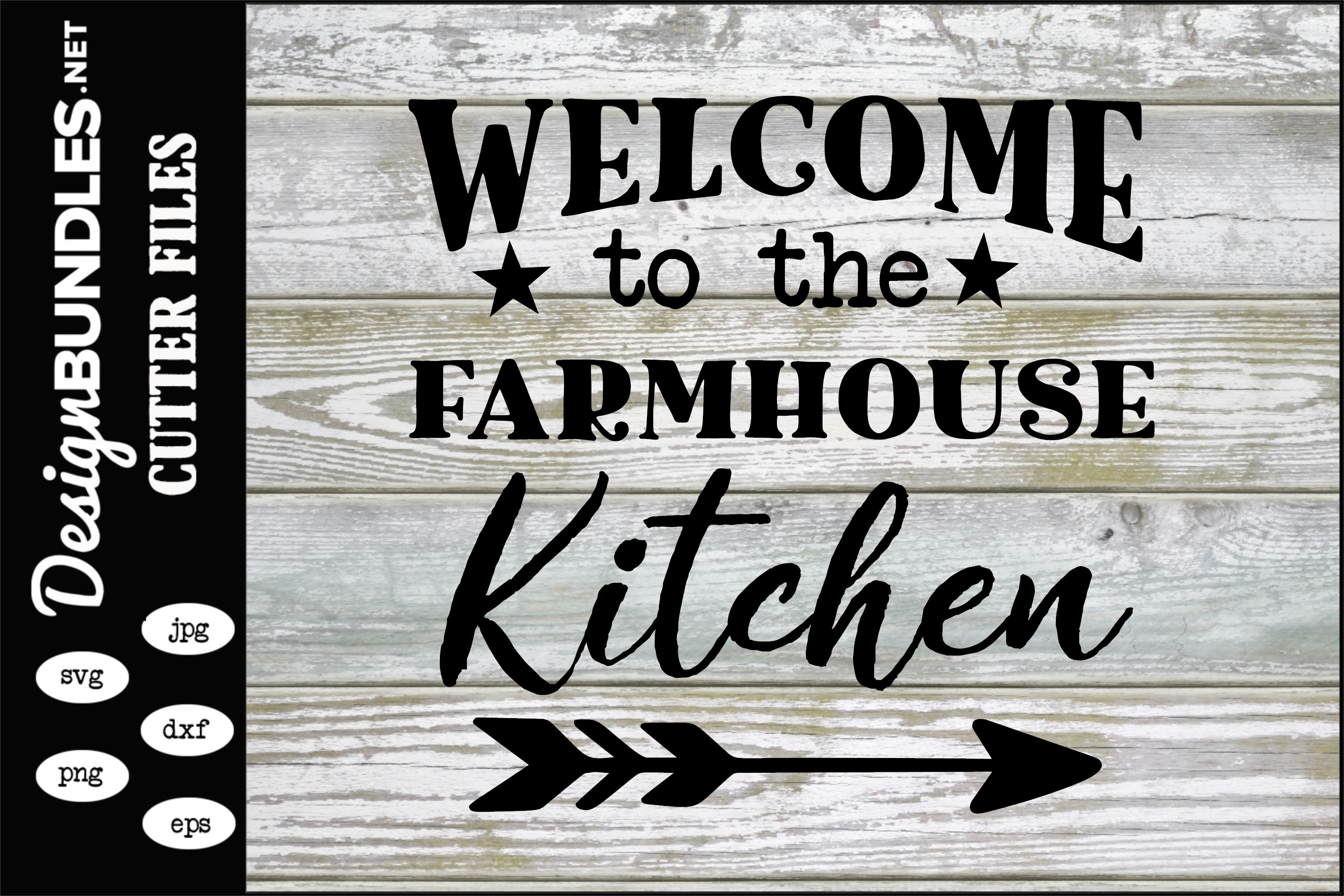 Farmhouse Kitchen SVG example image 1
