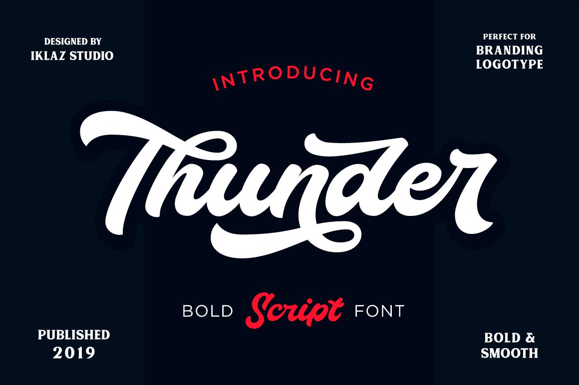 Thunder Script example image 2