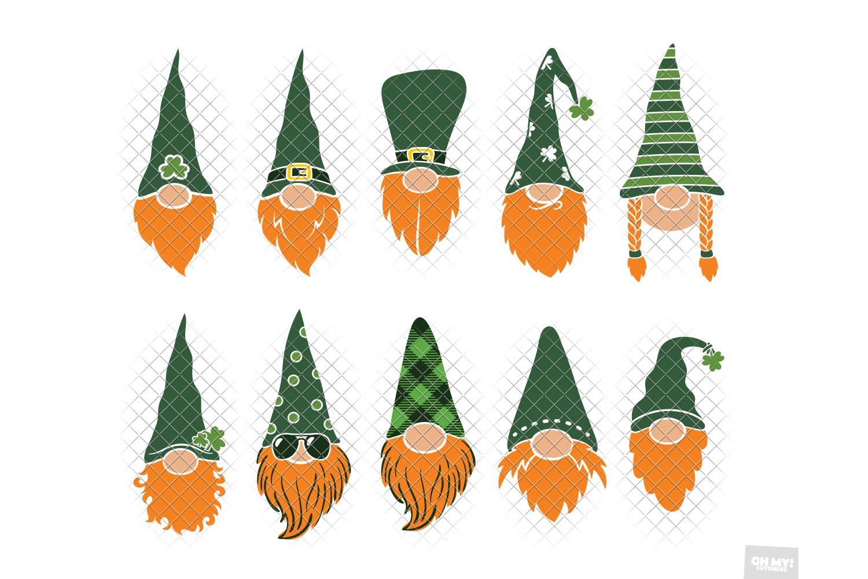 Download St Patricks Day Gnome SVG Sublimation in SVG,DXF,PNG,EPS,JPG